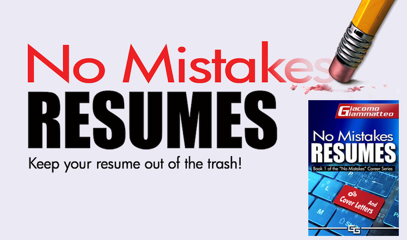 no mistakes resumes how to make your own resume get hired