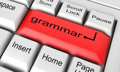 grammar keyboard to show lie, lay, and laid