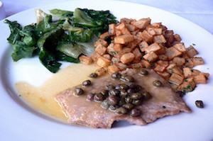 veal piccata with capers